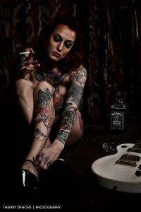 Body Tattoo Woman Sarah