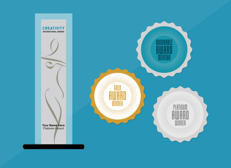 2015 Creativity International Design Awards Bronze