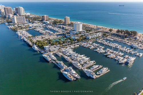 Bahia Mar Marina in Fort Lauderdale, Florida