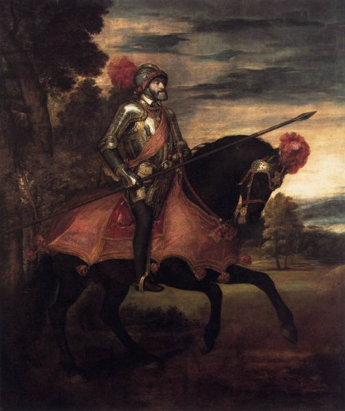 Charles Quint (1547) — Le Titien.