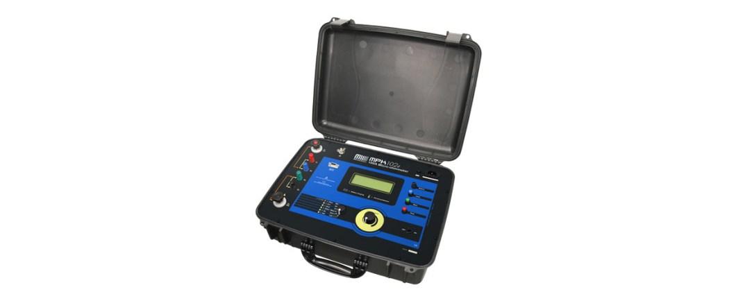 Cầu đo điện trở một chiều, dòng đo tới 100A Model: MPK-104e