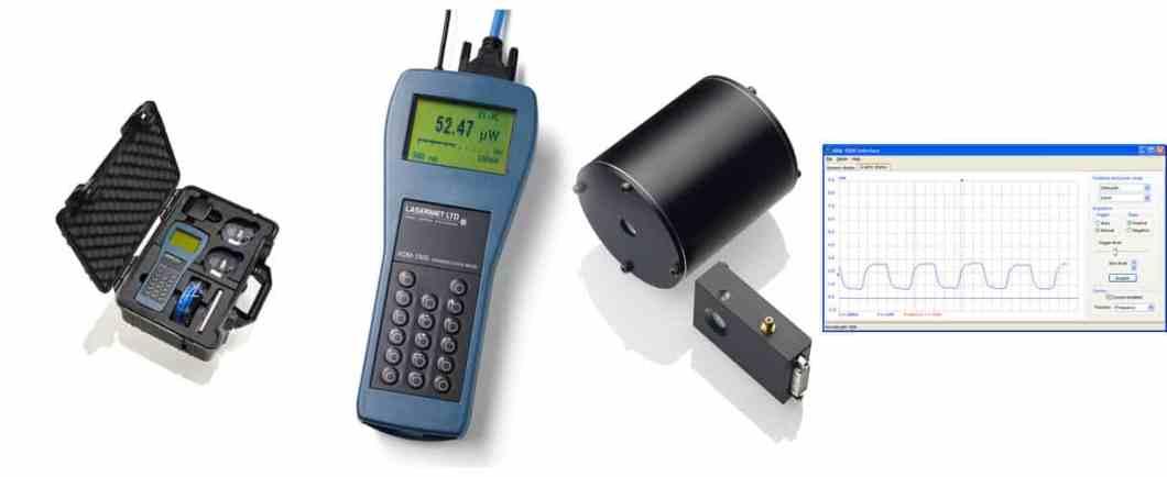 Thiết bị đo công suất và năng lượng của chùm tia Laser ADM1000