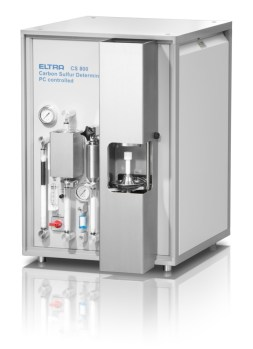 máy đo lưu huỳnh trong xi măng eltra cs 800