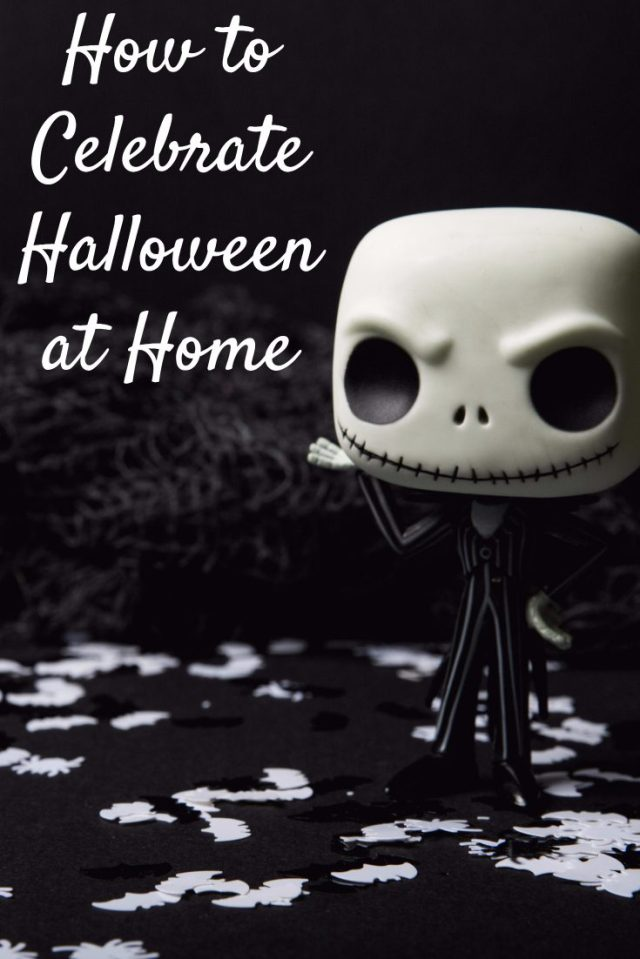 Halloween doesn't always mean you get to go out and trick or treat. Some parents have to work, kids are sick, or you have a newborn baby. There are ways you can celebrate inside.