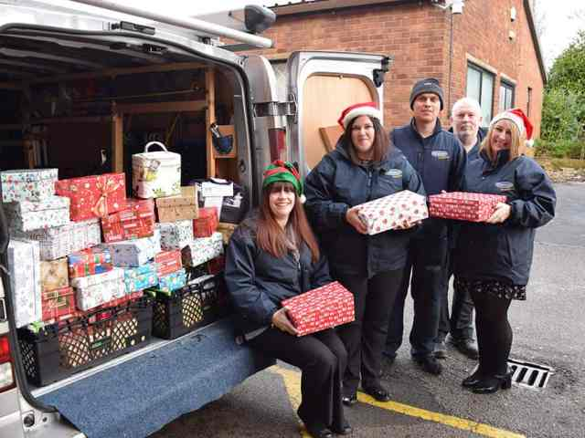 National retailer calls for elderly shoebox donations to give to people in hospital on Christmas Day