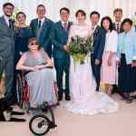 Gerald Simonds helps woman attend her daughter's wedding with helpful wheelchair add-on