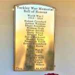 Recare commissions war memorial to mark centenary anniversary of Armistice Day
