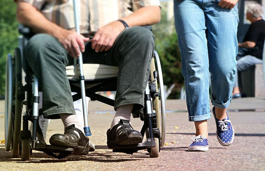 The OT's Perspective: When walking aids are no longer suitable