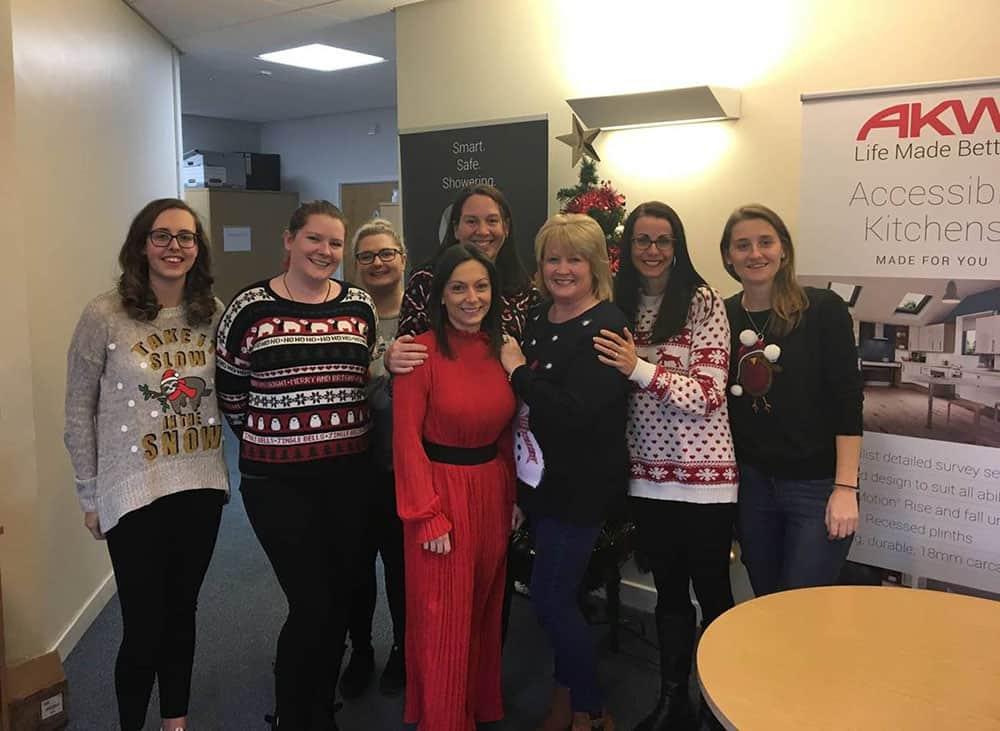 AKW_team Christmas Jumper Save the children