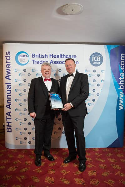 BHTA Awards Annual Simon Weston CBE