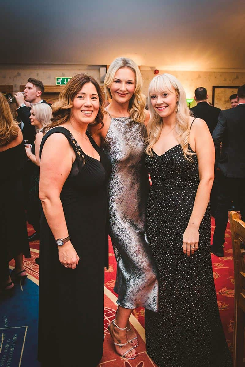 Three women at BHTA Annual Awards