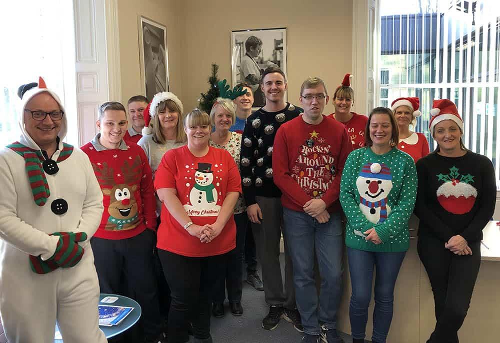 Crispin Orthotics Ltd Christmas Jumper Save the Children