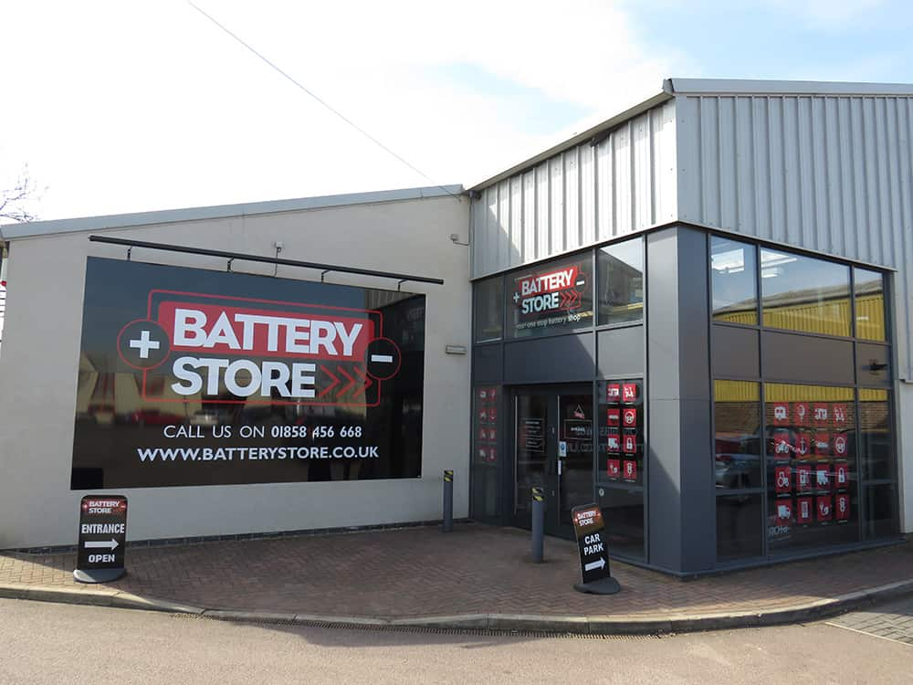Battery Store shop front image