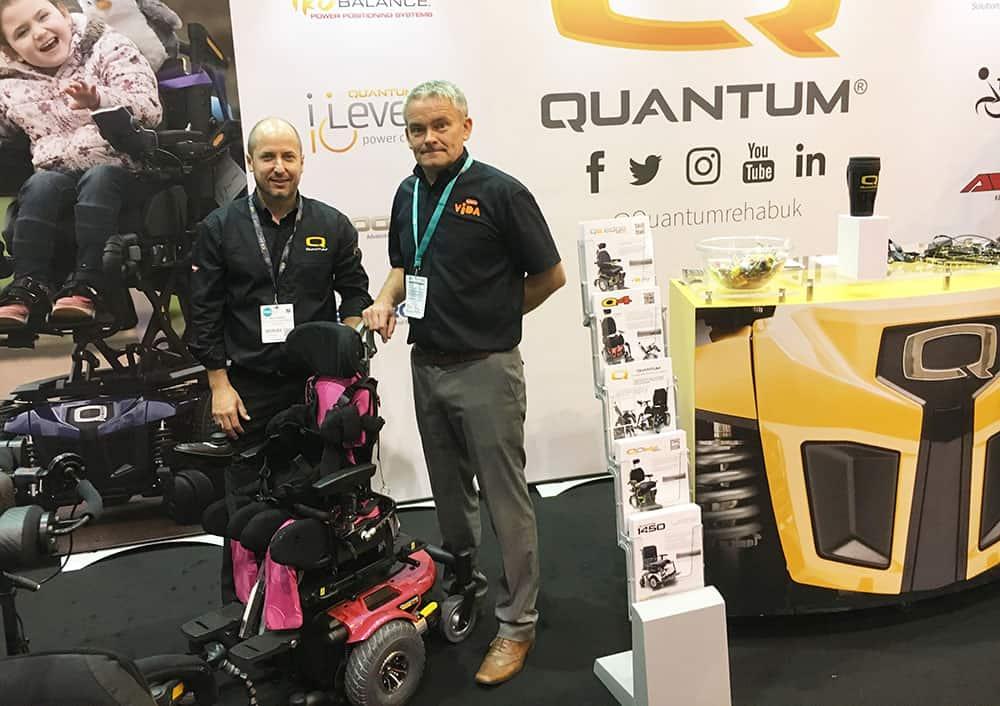 Quantum and Leckey partnership image