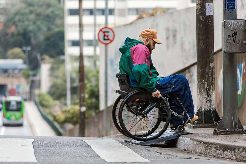Ford's smart, portable, lightweight wheelchair ramp innovation