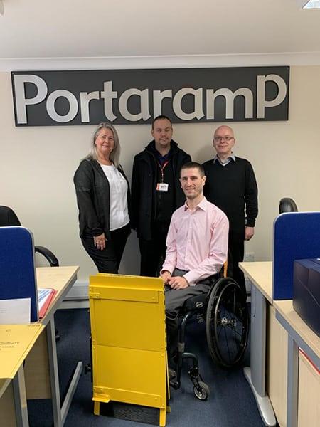Dominic Lund-Conlon with Portaramp image