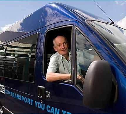 Hertfordshire Action on Disability transport service image