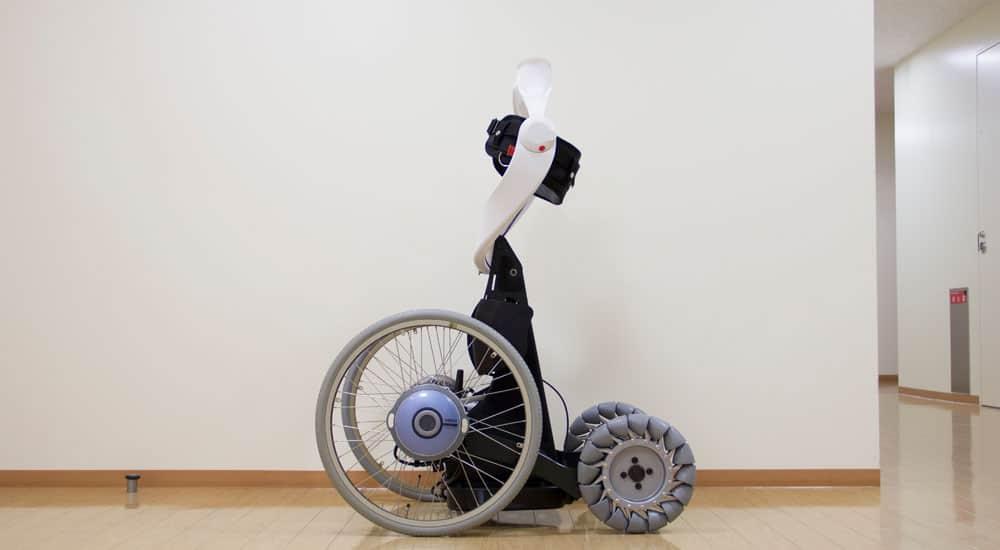 QOLO exoskeleton side view