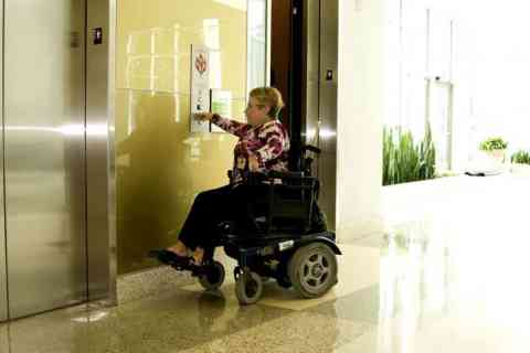 wheelchair user image