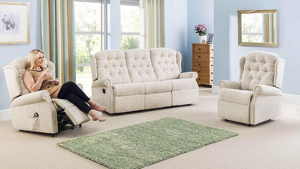 Celebrity furniture range in situ