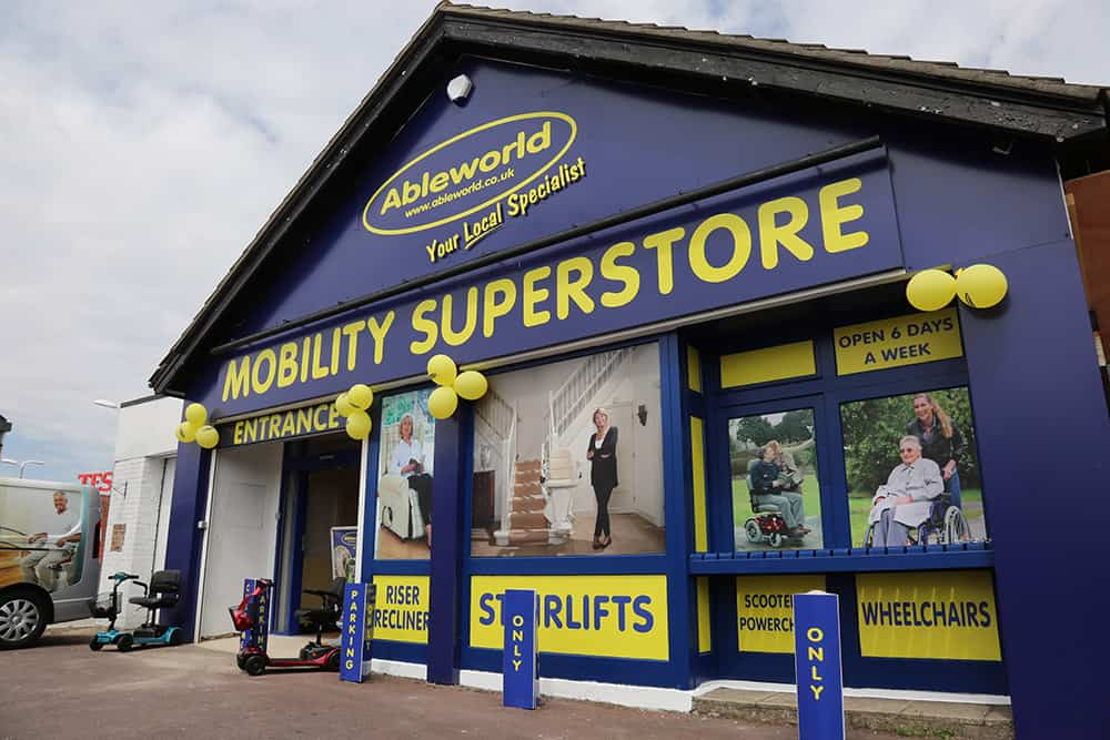 Ableworld store in Kinson image