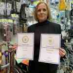 Karen Sheppard with her iDEA award image