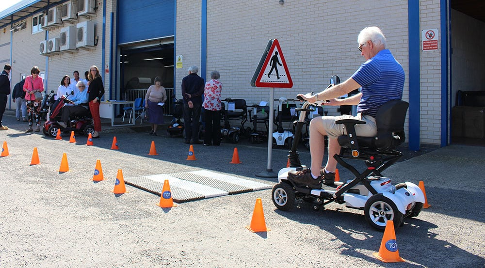 TGA scooter training image