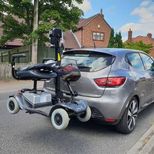Trilift mobility scooter lift Naidex Retailers Guide 2019
