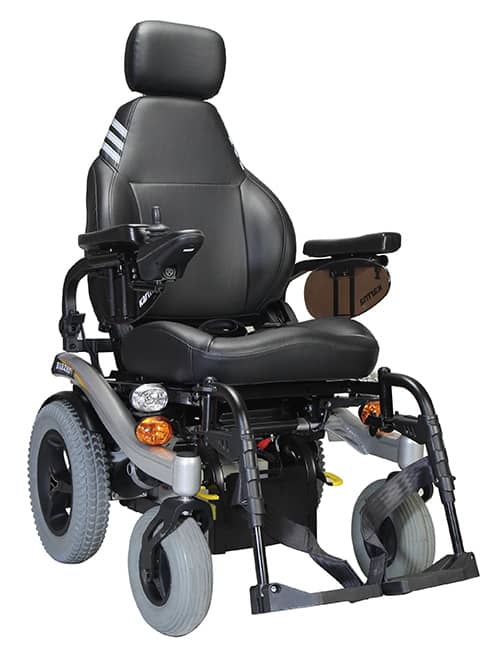 Karma Mobility's Blazer wheelchair for THIIS Naidex guide for retailer