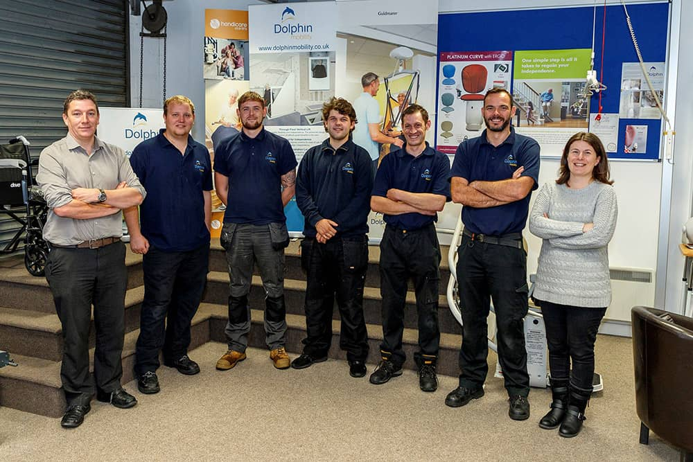 Dolphin Mobility Yorkshire and Cumbria team image