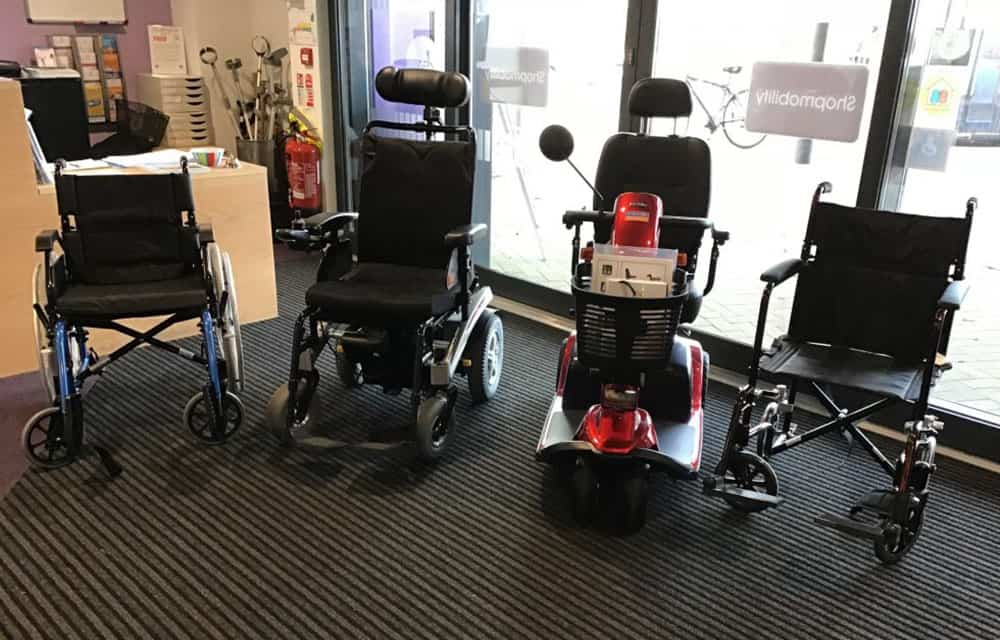 New Equipment Andover Shopmobility