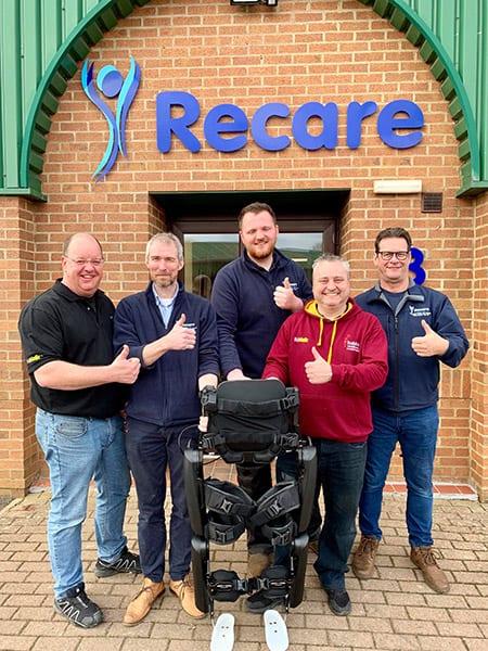 ReWalk Robotics and Recare partnership image