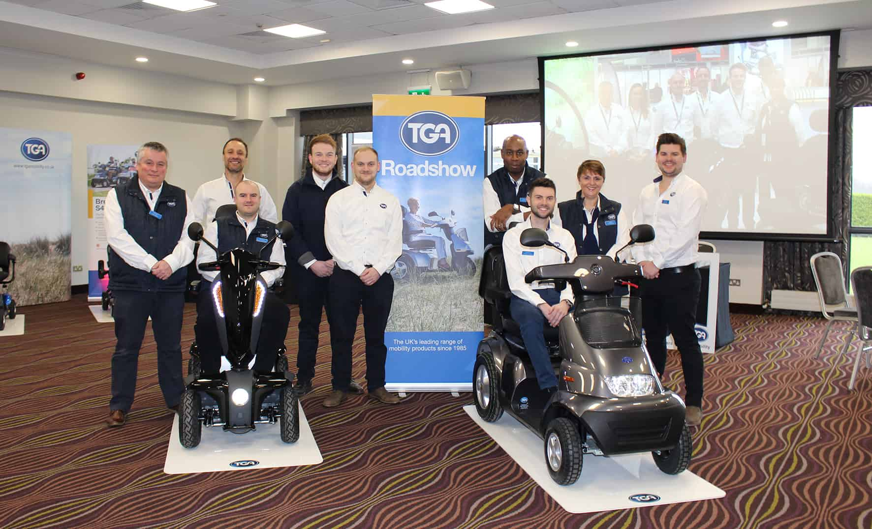 Dublin TGA Trade Roadshow success image