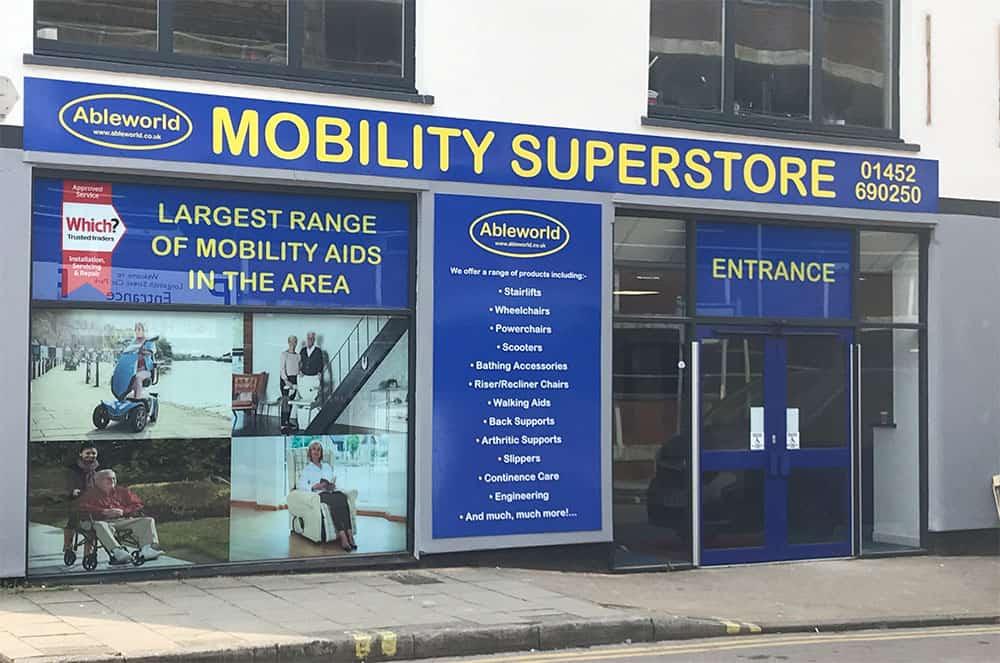 Ableworld Gloucester new store
