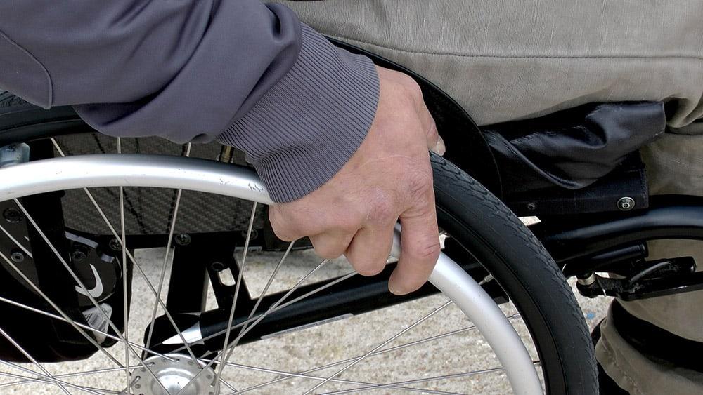 Generic wheelchair image