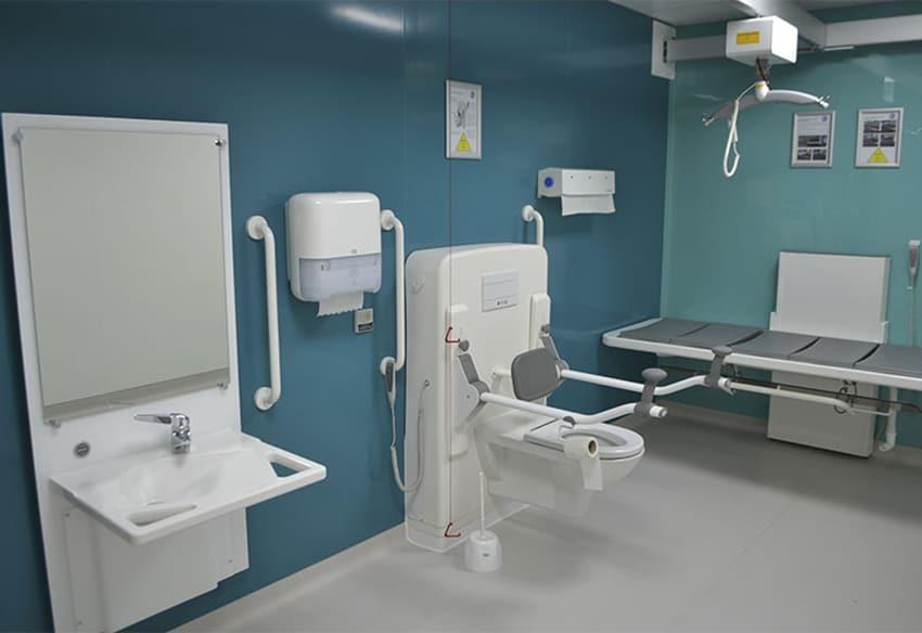 Burton Hospital Changing Places
