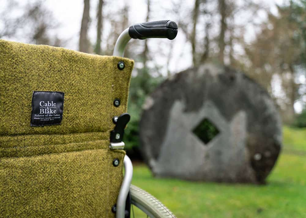 Langsdale Estate's new wheelchairs fitted out by Cumbrian firm Cable Blake
