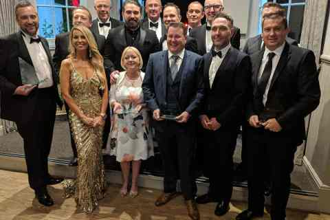 Handicare Awards 2019 winners with Channel 4
