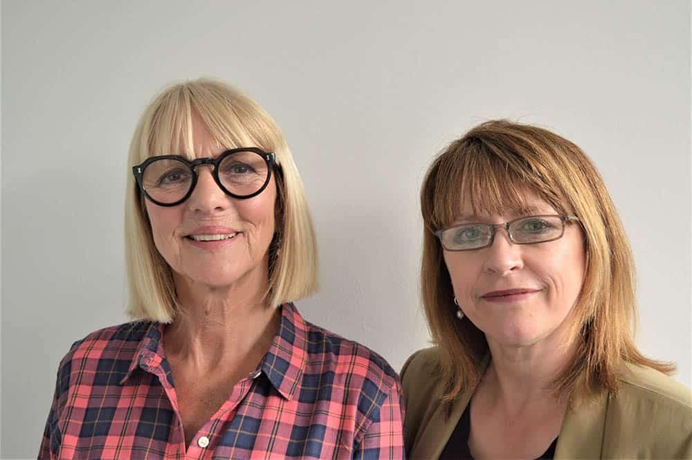 Trudie Goodwin and Elaine Ferguson