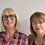 Trudie Goodwin and Elaine Ferguson