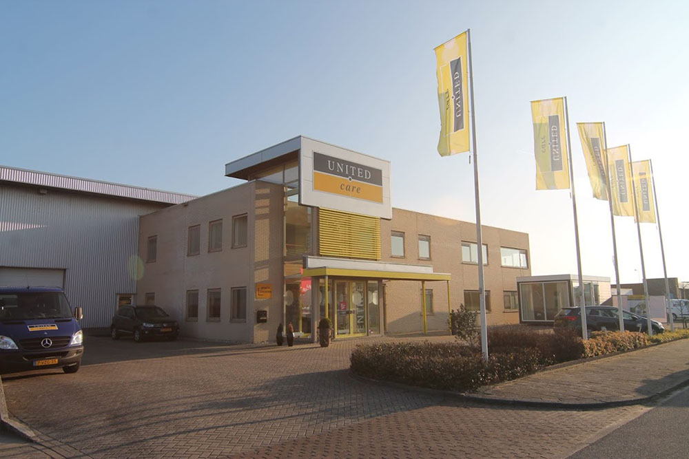 United Care building in the Netherland's following OpeMed acquisition