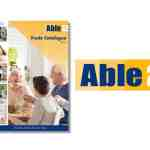 able2 new printed trade catalogue