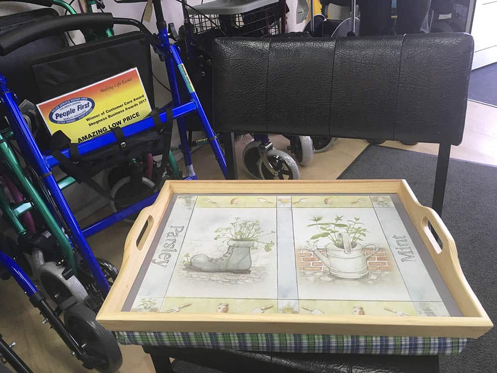 People First Mobility lap table