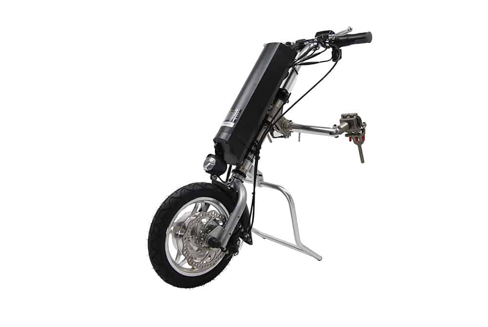 powered handbike attachment image