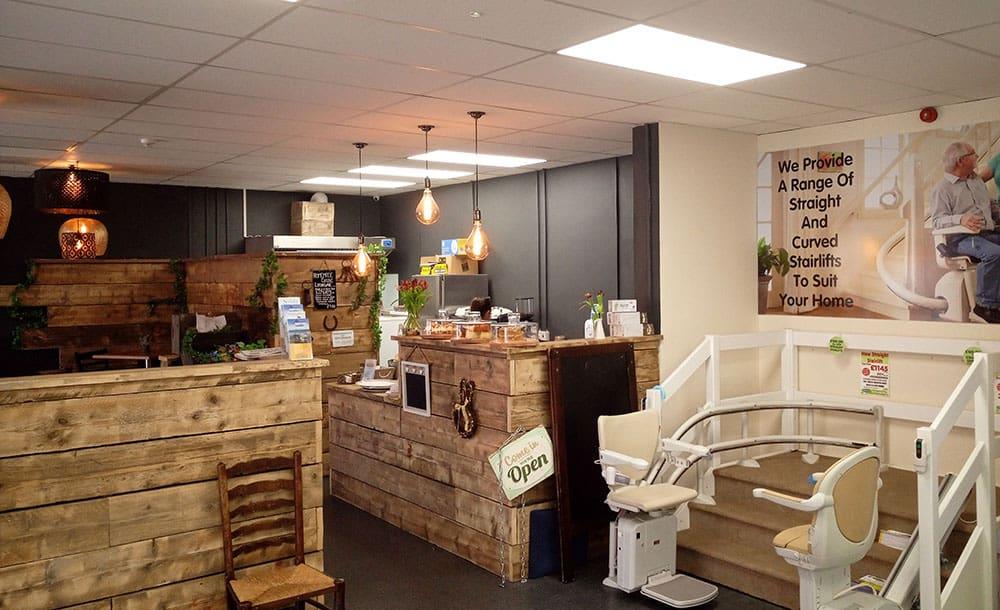 Ablworld Inside Llandudno, North Wales mobility retail branch