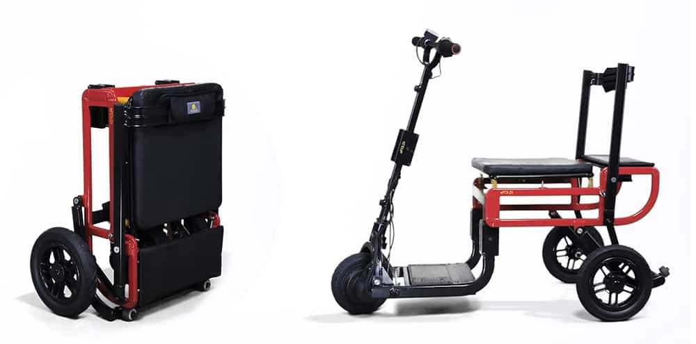 efoldi lite mobility scooter