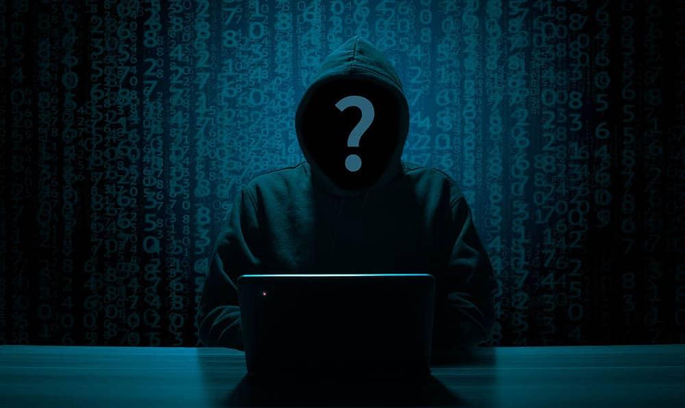 Hacker scam online scammer