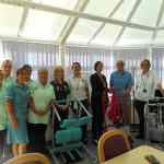 Hospital gets an update with raft of new helpful standing aids