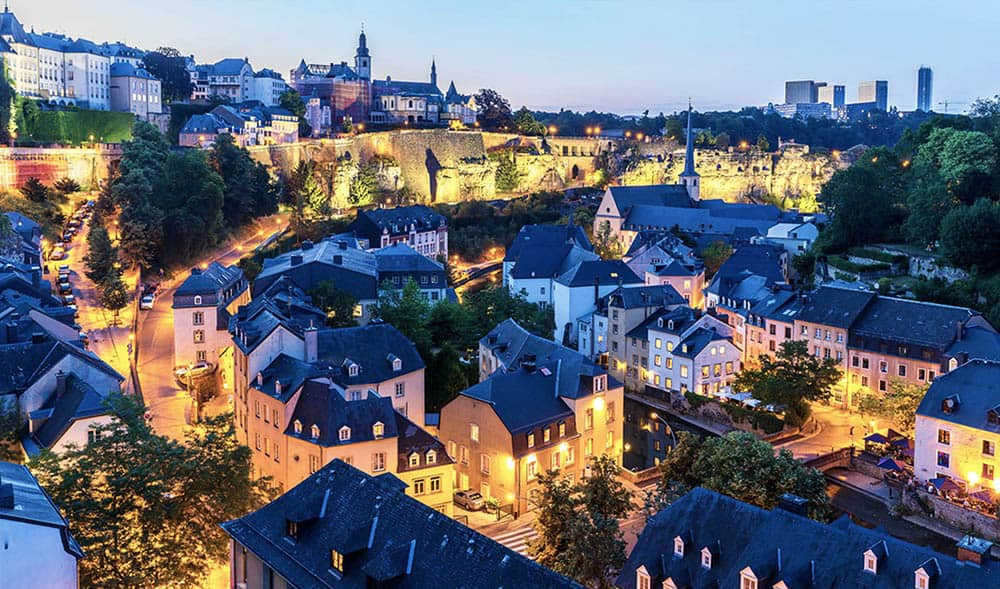 luxembourg most accessible city in Europe