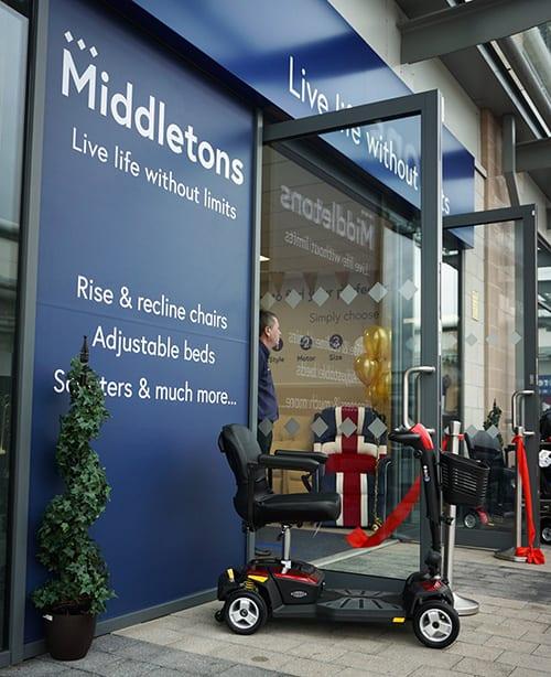 middletons new store nottingham